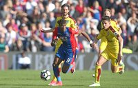 Crystal Palace v Burnley, London - UK - 29 Apr 2017