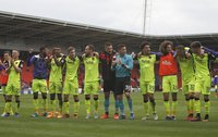 Doncaster Rovers  v Exeter City, Doncaster, UK - 29 Apr 2017