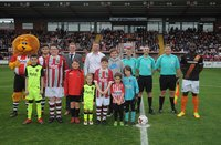 Exeter City v Barnet, Exeter, UK - 14 Apr 2017