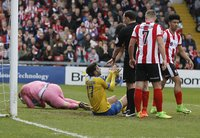 Lincoln City   v Torquay United, Lincoln, UK - 14 Apr 2017