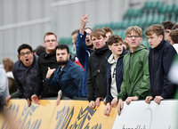 Newport County v Yeovil Town, Newport, UK - 14 Apr 2017