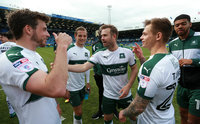 Portsmouth v Plymouth Argyle, Portsmouth, UK - 14 Apr 2017