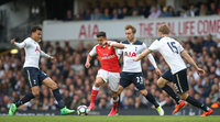 Tottenham Hotspurs v Arsenal, London - UK - 30 Apr 2017