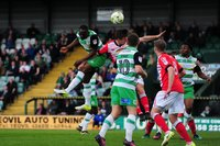 Yeovil Town v Crewe Alexandra, Yeovil, UK - 17 Apr 2017