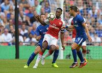 Arsenal v Chelsea, London, UK - 6 August 2017