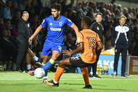 Barnet v AFC Wimbledon, London, UK - 29 August 2017