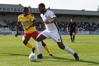 Boreham Wood v Wrexham, London, UK - 28 August 2017