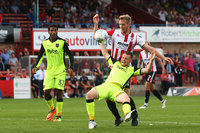Cheltenham Town v Exeter City, Cheltenham, UK - 26 August 2017