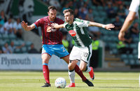 Plymouth Argyle v Scunthorpe United, Plymouth UK - 26 August 201
