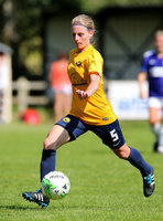 Torquay United Ladies and Port Talbot Town Ladies, Bovey Tracey,