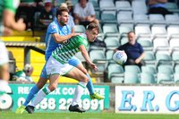 Yeovil Town v Coventry City, Yeovil, UK - 26 August 2017