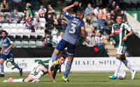 Plymouth Argyle v Charlton Athletic, Plymouth UK - 12 August 2017