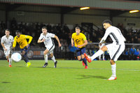 Boreham Wood v Torquay United, London, UK - 30 Dec 2017
