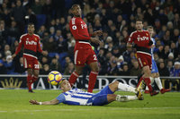 Brighton and Hove Albion v Watford, Brighton, UK - 23 Dec 2017