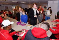 Meet the Players Exeter City, Exeter, UK -14 Dec 2017