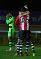 Exeter City v Forest Green Rovers, Exeter, UK - 12 Dec 2017