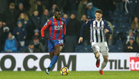 West Bromwich Albion v Crystal Palace, London - UK - 2nd Dec 2017