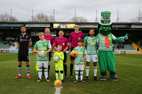 Yeovil Town v Lincoln, Yeovil, UK - 9 Dec 2017