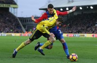 Crystal Palace v Middlesbrough, London - UK - 25 Feb 2017