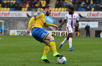 Torquay United v Sutton United, Torquay - UK - 25 Feb 2017