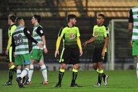 Yeovil Town v Reading U21 100117