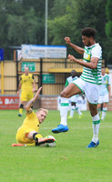 Tiverton Town v Yeovil Town, Tiverton, UK - 29 July 2017