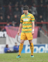 Morecambe v Yeovil Town, Morecambe, UK - 11 March 2017
