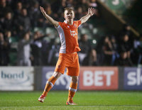 Plymouth Argyle v Blackpool, Plymouth UK - 7 Mar 2017