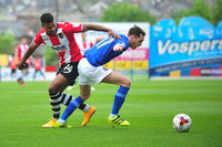 Exeter City v Carlisle United, Exeter, UK - 6 May 2017