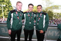 Plymouth Argyle Promotion celebrations, Plymouth UK - 08 May 201