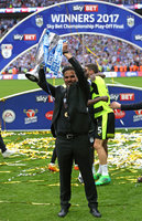 Huddersfield Town v Reading, London - UK - 29th May 2017