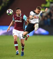 West Ham United v Tottenham Hotspur, London - UK - 05 May 2017