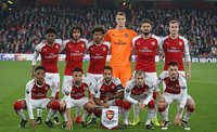 Arsenal v Crvena Zvezda, London, UK - 2nd November 2017