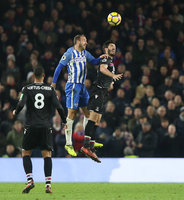 Brighton and Hove Albion v Crystal Palace, London - UK - 28th Nov 2017