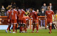 Crawley Town v Exeter City, Crawley, UK - 21 Nov 2017