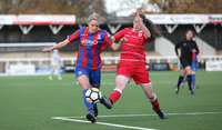 Crystal Palace Ladies v Cardiff City Ladies, London - UK - 26th Nov 2017