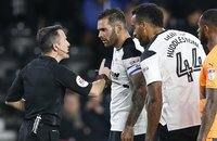 Derby County  v Reading, Derby, UK - 04 Nov 2017