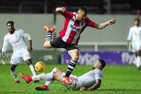 Exeter City v Accrington Stanley, Exeter, UK - 25 Nov 2017