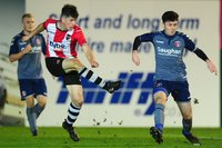 Exeter City U18s v Charlton Athletic U18s, Exeter, UK - 14 Nov 2
