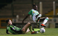 Yeovil Town v Plymouth Argyle, Yeovil, UK - 28 Nov 2017