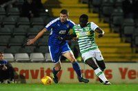 Yeovil Town v Notts County, Yeovil, UK - 21 Nov 2017