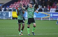 AFC Wimbledon v Plymouth Argyle, Kingston Upon Thames, UK - 21 Oct 2017