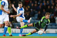 Blackburn Rovers v Plymouth Argyle, Blackburn, UK - 17 Oct 2017