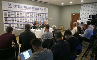 Crystal Palace Press Conference, London - UK - 13th Octoberber 2