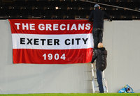 Exeter City v Luton Town, Exeter, UK - 17 Oct 2017