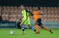 Barnet v Exeter City, Barnet, UK - 12 Sept 2017