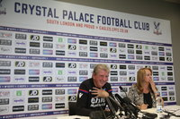 Crystal Palace Press Conference, London - UK - 15th September 2017