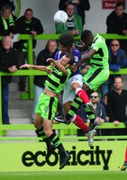Forest Green Rovers v Exeter City, Nailsworth, UK - 9 Sept 2017