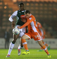 Plymouth Argyle v Blackpool, Plymouth UK - 12 September 2017