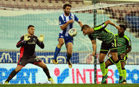 Wigan Athletic v Plymouth Argyle, Wigan UK - 26 Sept 2017